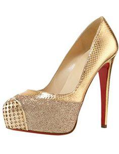 Maggie Glitter   Snake Platform Pump by Christian Louboutin at Bergdorf  Goodman. Marj Samms · Red Bottom Shoes for Women d460cc5c4c68