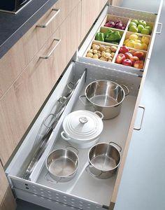 Ideas de almacenaje para la cocina