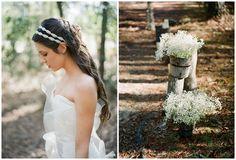 Eine Hochzeit mit Vintagecharme und vielen goldenen Details ...