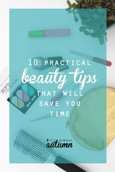 10 practical tips that will save you time getting ready each morning - including a spray that takes wrinkles out of clothes and another that dries nail polish super fast! #targetfind #sponsored