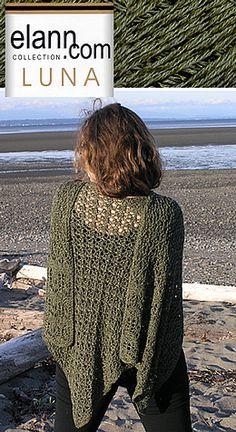 Lotus Blossom Shawl free knit pattern