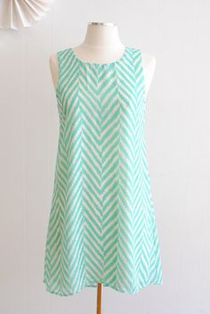 Classic Chevron Dress