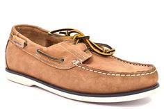 WRANGLER WM171120 108 OCEAN LEATHER TESTA MORO Uomo Ragazzo Scarpe Barca Sneaker