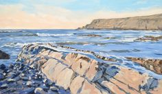 Rocky Outcrop Widemouth Bay by Lawrence Dyer by LawrenceDyer