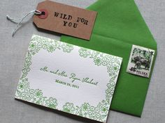 The Aerialist Press Wedding Invitations and Stationery
