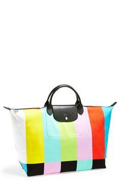 Longchamp 'Jeremy Scott - Color Bar' Travel Bag available at #Nordstrom