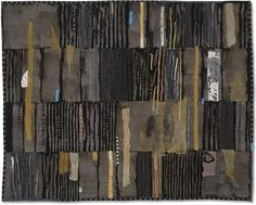 Sending Up Prayers  by Jette Clover  art quilt -40 x 51 inches - hand dyed, collage, hand and machine quilting  Visions Art Museum, Quilt Visions Biennial, 2006