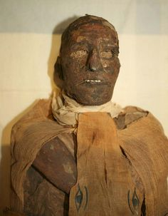 Forensic analysis on King Ramesses III revealed a sliced throat previously hidden by bandages. CT scans show it to have been likely fatal. Ancient documents/ Judicial Papyrus of Turin: in 1155 BC, his harem attempted to kill him as part of a palace coup. Ancient Artifacts, Ancient Egypt, Ancient History, Egyptian Mummies, Egyptian Art, Post Mortem, Forensics, Interesting History, Ancient Civilizations