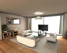 casas modernas de una planta, plano casas modernas, fachadas de casas de un piso, diseños modernos de casas, modelos de casas para construir...