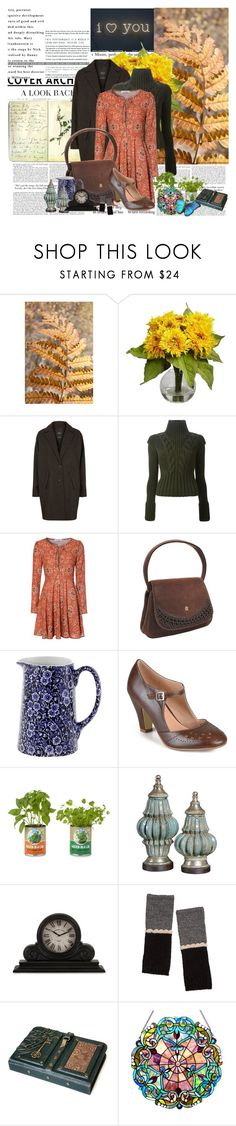 """i <3 u"" by noextrate ❤ liked on Polyvore featuring Dollhouse, Moleskine, Nearly Natural, SET, Alexander McQueen, Glamorous, Koret, Burleigh, Journee Collection and Back to the Roots"