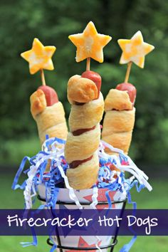 No BBQ is complete without hot dogs, right? These Firecracker Hot Dogs are a favorite fun food in our house and add a spark to our Memorial Day cookout!