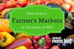 2016 Guide to Farmer's Markets in Cincinnati & NKY