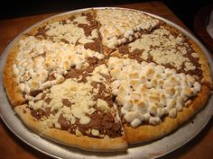 chocolate pizza by max brenner