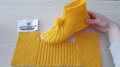 Free Knitting Pattern for Easy Cozy Toes BootiesBooties to Crochet – Step by Step Guide - Design PeakLimon Çekirdeği ile Eviniz Her Zaman Mis Gibi Kokacak Baby Knitting Patterns, Knitting Stitches, Crochet Patterns, Knitted Booties, Knitted Slippers, Easy Knitting, Knitting Socks, Knitting Projects, Crochet Projects