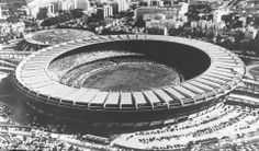 1950, Brazil: The final round in this WC was a mini round robin in which the top 4 countries from the 4 pools would play. In real there was no final. This meant more ticket sales! The Maracana stadium hosted the deciding Brazil vs Uruguay match in which the latter beat the hosts 2-0. One of the biggest upsets on football history.