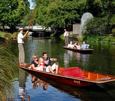 Oxford Punting -