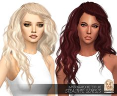 MISSPARAPLY | [TS4] Stealthic Genesis: Solids 64 colors Custom...
