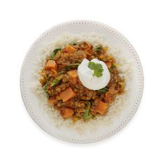 This Indian-influenced vegetarian stew is delicious and easy to make. For cooler months, it's the perfect comfort food to come home to after a long day. Recipe: Curried Lentils with Sweet Potato   - Delish.com