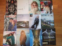 lot Q 12 fashion catalogues active wear smartwool prana merrill title nine athle | eBay