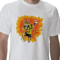 Check out my Kilkenny Cats' shirt. Buy one of your own!