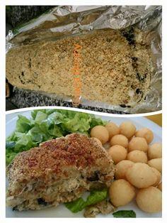 Rolo de bacalhau com broa     6 Pessoas               Ingredientes:  500 g broa  2 Dentes de alho  50 g azeite 500 g bacalhau desfiado e d...