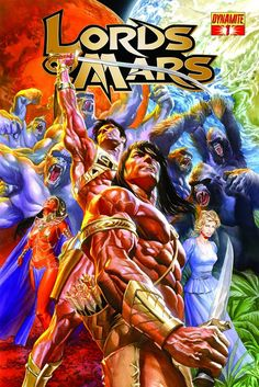 'Lords Of Mars' #1 by Alex Ross