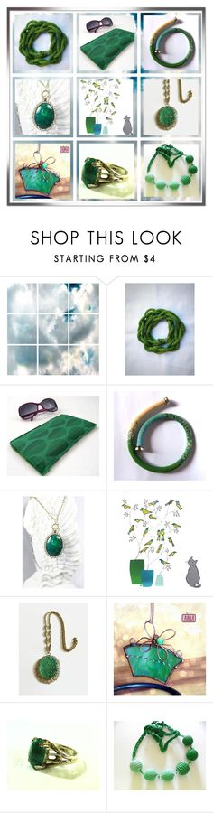 """""""February Etsy Mix"""" by oxysfinecrafts ❤ liked on Polyvore featuring Barclay Butera"""