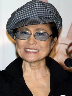 Yoko Ono, Japanese Artist, Peace Activist, Mother to Sean Ono Lennon