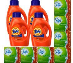 En Rite Aid puedes conseguir el detergente Tide y Puffs Tissue a solo $0.99 cada uno. Compra los 11 productos y combinanalos con las ofertas ..