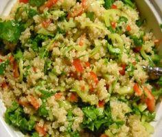 Συνταγές με ΚΙΝΟΑ ;-) Κινόα με λαχανικά.
