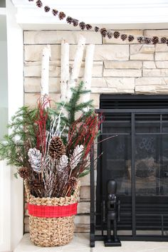 My 2015 Holiday Home Tour - A Pretty Life In The Suburbs