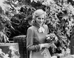 A very young Diana