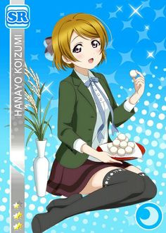Hanayo SR Loving you!
