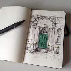 #art #drawing #pen #sketch #illustration #quicksketch #architecture #somewhereinlondon