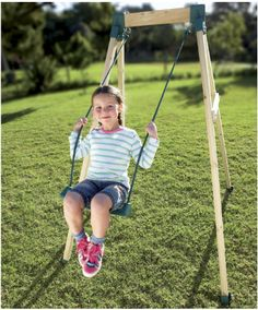Swing Chair Tesco Target Toddler Chairs Buy Plum® Wooden Single Set From Our Swings Range - Tesco.com | Sets For Small ...