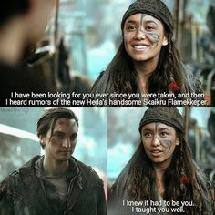 "#The100 3x12 ""Demons"" - Murphy and Emori"