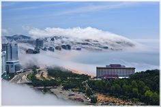 SEA FOG Busan Korea