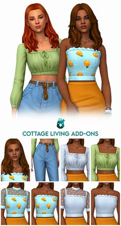 Sims 4 Toddler Clothes, Sims 4 Mods Clothes, Sims 4 Clothing, Female Clothing, The Sims 4 Pc, Sims Four, Sims 4 Mm Cc, Maxis, Sims 4 Add Ons