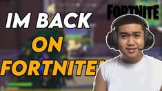 IM BACK ON FORTNITE!! | Gabun PH #FILIPINO Im Back, You Youtube, Filipino, Idol