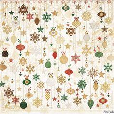 Bobunny Silver & Gold & ornaments paper