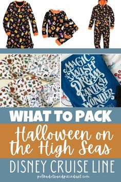 Sailing on a Halloween on the High Seas cruise and not sure what to pack? We've got you covered with our packing list Disney Cruise Tips, Cruise Vacation, What To Pack, Halloween, Travel, Viajes, Destinations, Traveling, Trips