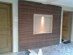 Wall decoration..... Rattan synthetic.....