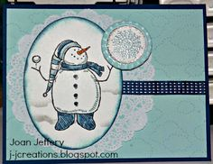 Snowbuddy by froglady - Cards and Paper Crafts at Splitcoaststampers