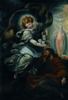 Francisco Rizi, The Dream of Saint Joseph, c. 1665