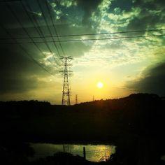 Fukushima Street View.  #iwaki #fukusima #japan #201606 #shotoniphone6 #sunset
