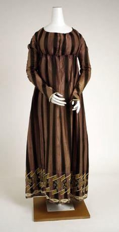 Dress ca. 1802 via The Costume Institute of the Metropolitan Museum of Art