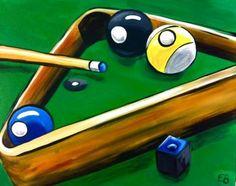 Billiards from Uptown Art