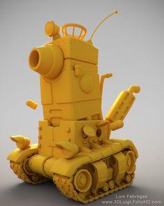 Metal Slug Tank, Luis Fabregas on ArtStation at https://www.artstation.com/artwork/metal-slug-tank-ab2f4957-8a7d-4571-8094-4ec732416993
