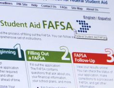 The Financial Aid Lingo You Need to Know                The Financial Aid Lingo You Need to Know The college admissions process is stressful enough. By the time you get to filling out your financial aid forms, everything might just feel like a confusing, acronym-filled blur. FAFSA? SAR? EFC? Who even knows what all those terms mean? But don't worry! Below is a list of all the financial aid terminology a pre-collegiette needs to know to survive funding your education.