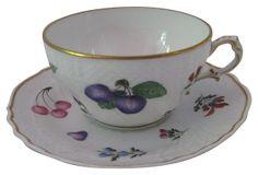 Vecchio Ginori - Val D'Orcia Cup & Saucer | Richard Ginori 1735